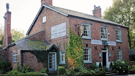 A warm welcome awaits you and Rover at the Church Inn, Mobberley