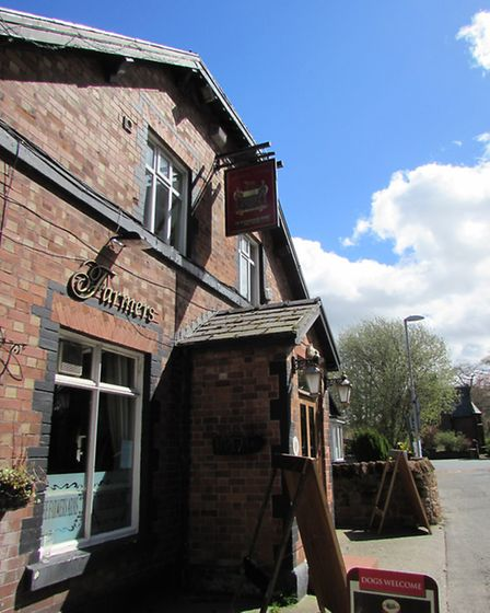 Pop into the Farmers' Arms, Frankby with your canine companion