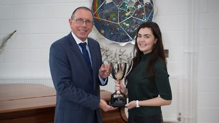 Sales Director Philip Brown and Micaela Sowerby