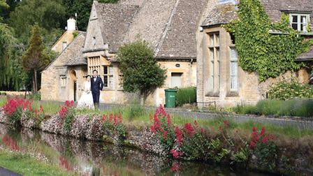 Drop by nearby stunning village Lower Slaughter - you may even spot a bride