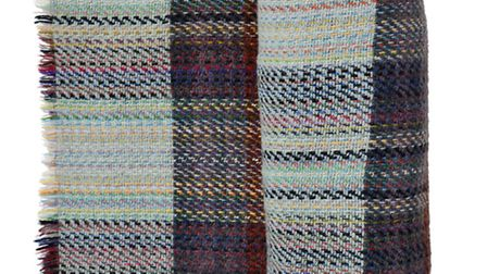 Recycled pure wool blanket £15.95, Decorator's Notebook