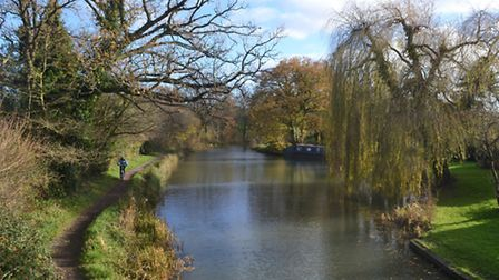 The Basingstoke Canal is claimed by many to be one of the country's most beauiful waterways