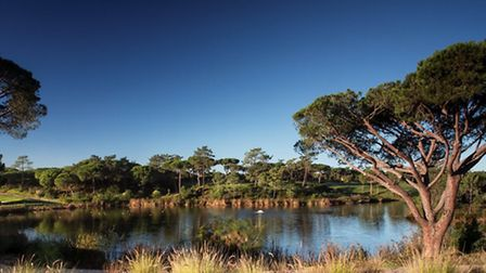 The lake at Quinta do Lago, part of the nature reserve