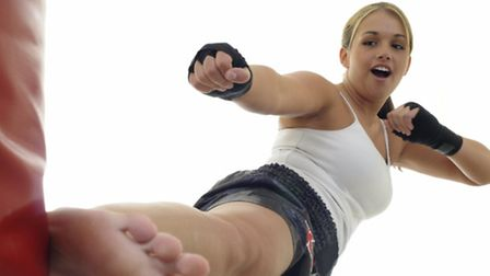 Kickboxing is a great way to keep fit and boost confidence