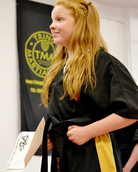 Tring Martial Arts Academy student