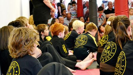 The structure of martial arts breeds confidence in youngsters