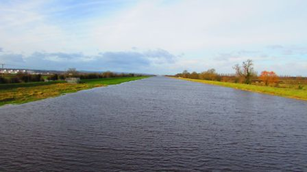 View from the footbridge over the River Dee