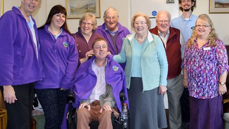 Picture of the team at Abbeyfield