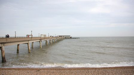 Deal pier is the only completely new post-war pier in the country
