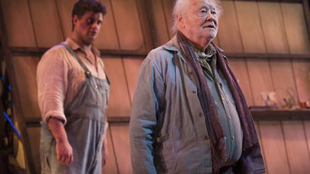 Dudley Sutton (Candy) in Of Mice and Men