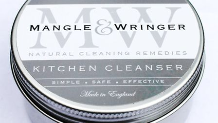 Mangle and Wringer is a traditional-style natural kitchen cleanser