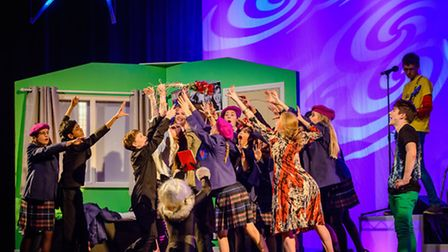 Reigate Grammar Schools most recent school production Angus, Thongs and Perfect Snogging