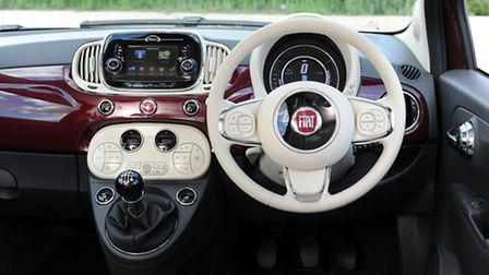 The interior is fun and stylish as well as being packed with technology
