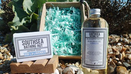 Samantha's product range is growing to include oils and salts