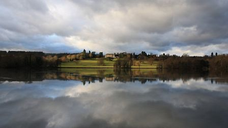 Gatton park makes for a stunning winter day out