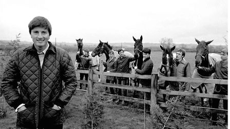 Five horses from the Harewood stables, near Leeds, of Michael Dickinson (far left), who finished in