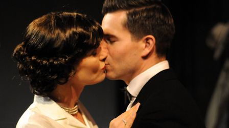 Terry and Olly in Dial M for Murder