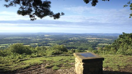 View south from the Temple of the Winds (Photo: National Trust Images/John Miller)