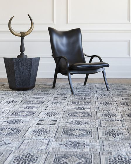 A Roman villa inspired rug from the Luke Irwin collection