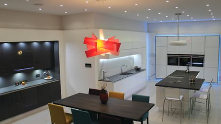 The kitchen but not as we know it: high tech design by Intoto Kitchens (intoto.co.uk) working with I
