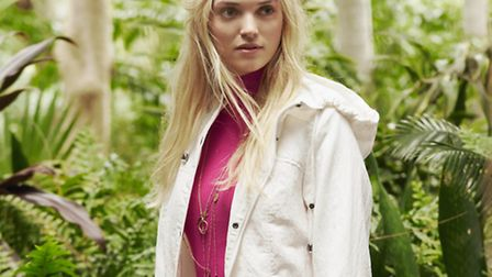 Casual lightweight park by Long Tall Sally, £75, stores across Kent and online at: www.longtallsally