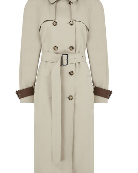 Autograph at Marks & Spencer trench coat, £129, stores across Kent and online at: www.marksandspence