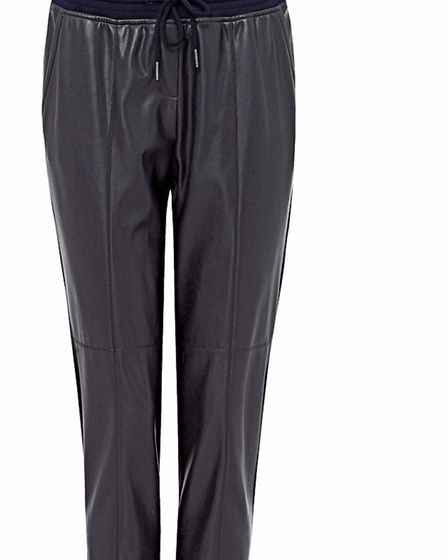 Watch the rain run off these practical, stylish trousers in mixed materials by Marc Cain Sports, £20