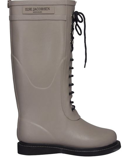 Rubber boot with laces, mid-calf, from Ilse Jacobsen, 6 High Street, Tunbridge Wells TN1 1UX, 01892