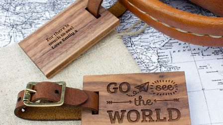These lovely hand crafted wooden keepsakes can be personalised