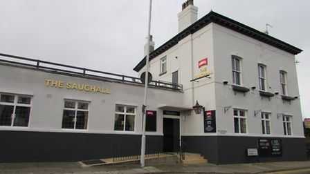 The Saughall pub, Saughall Massie