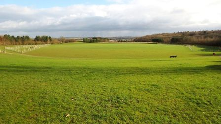 Great Ashby District Park has fabulous views over North Herts countryside