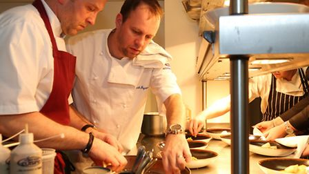 Colin Starkey, Executive chef at Restaurant One Eighty with Michelin starred chef, Mark Poynton