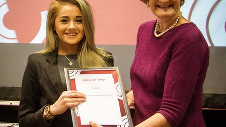 Eve won the Cirencester College Apprentice of the Year