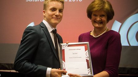 Alfie Duffen wins the Science Faculty Prize for Maths