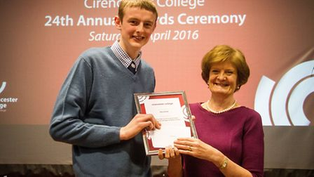 Harry was chosen to receive the Royal Agricultural University Award for Countryside, Heritage and th