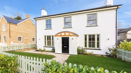 This new build detached home is in the heart of Royston