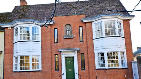 Sativus House was built on Saffron Walden high street in 1982 and has views of St Mary's Church