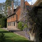 The intriguing property at the heart of the gardens was once an 18th century workhouse