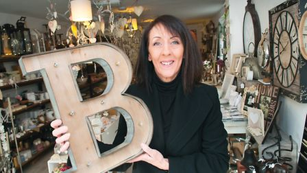 Teresa Robertson from Abode says illuminated letters are big this season