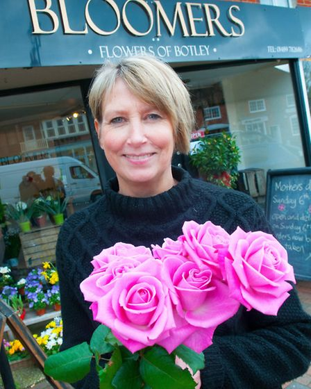 Anita Dunn from Bloomers quit her government job to work in Botley