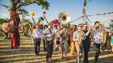 A snapshot from Wilderness Festival 2015