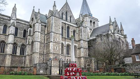 Grade I listed Rochester Cathedral, England's second oldest after Canterbury, was founded in 604AD b