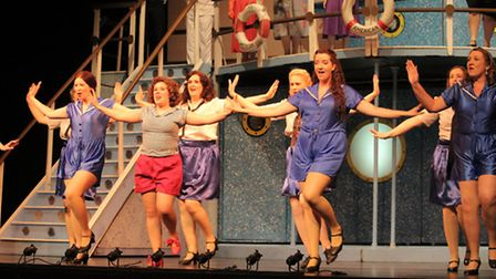 The Cotswold Savoyards in 'Anything Goes' at the Cheltenham Everyman