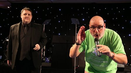 Peter Kay and Antony Wagman