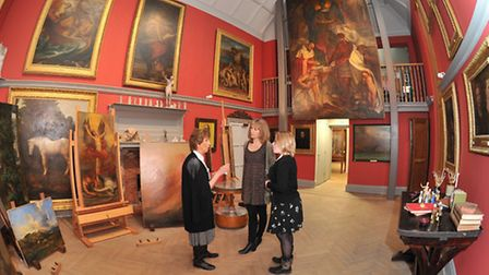 One of the newly-opened studios at Limnerslease (Photo Pete Gardner)