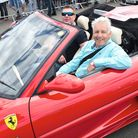 News anchor Nicholas Owen makes a day of it from Reigate