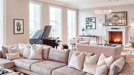 Mixing contemporary and raw materials with period features was key to this home design (Cherie Lee I