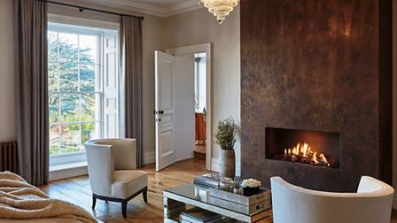 The ultimate luxury of a bedroom fire (Cherie Lee Interiors)