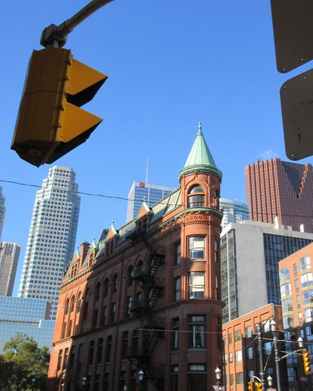 Toronto is a fascinating mix of architectural styles (Photo Caroline Harrap)