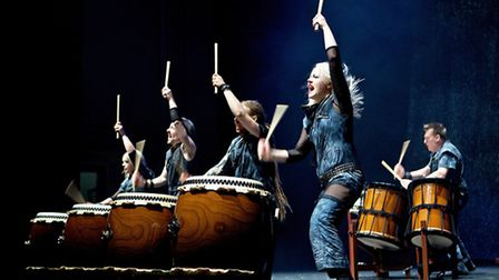 The Mugenkyo Taiko Drummers will be at the New Theatre Royal on 25 June